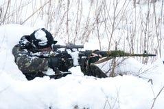 снайпер Стоковое Изображение RF