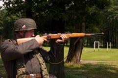 снайпер nazi стоковые изображения