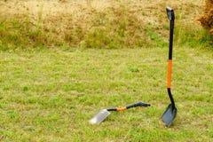 Снаружи лопаты лопаткоулавливателя стоящее Стоковая Фотография