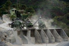 Снаружи Canillias De Albaida карьера доломита как раз, Испания Стоковое фото RF