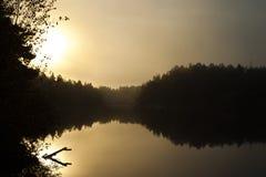 Снаружи stockholm озера как раз, Швеция Стоковое Фото