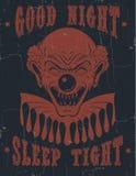 Сна спокойной ночи ` предпосылки цитаты вектора ` типографского плотное иллюстрация вектора