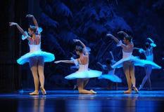 Снега эльфов- поступок сперва четвертой страны снега поля - Щелкунчика балета Стоковое Изображение RF