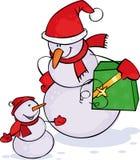 снеговики 2 Стоковая Фотография