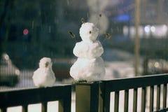 снеговики Стоковая Фотография