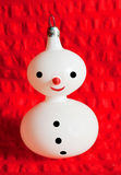 снеговик рождества Стоковые Изображения