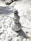 Снеговик снежного кома 3 Стоковые Изображения RF