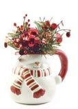 снеговик украшения рождества Стоковая Фотография RF