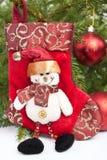 снеговик украшения рождества Стоковое Изображение