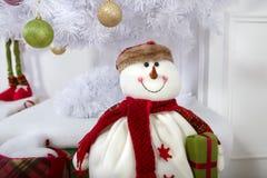 Снеговик украшения рождества Стоковые Фотографии RF