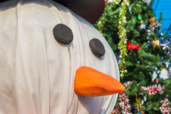 снеговик для предпосылки рождества Стоковые Фото