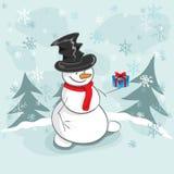 снеговик Стоковое Фото