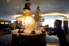Снеговик Стоковое Изображение RF
