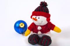 Снеговик docoration рождества Стоковое Изображение RF