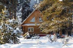 Снегоход дома Стоковое фото RF