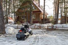 Снегоход дома Стоковое Изображение RF