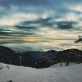 Снег в горе Tatry Стоковое фото RF