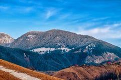 Снег горы Стоковая Фотография RF