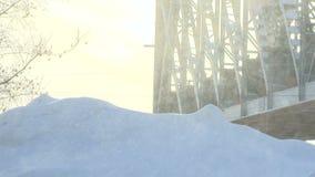 Снег, день, фантазия, необыкновенный, секретная, элемент акции видеоматериалы