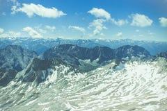 Снег лета Стоковая Фотография