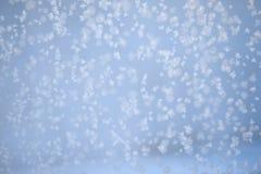 Снег на окне Стоковые Фотографии RF