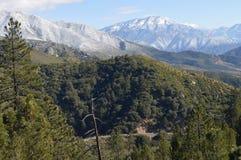 Снег покрыл гору Сан Бернардино Стоковые Фотографии RF