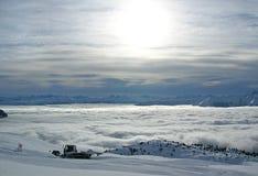Снег холя в Flims, Швейцарии Стоковое Фото