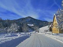 Снег 01 Стоковое Изображение RF