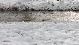 Снег Стоковые Фотографии RF