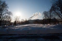 Снег Chrismas Стоковое Фото