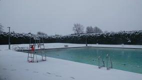 Снег Lido Стоковое фото RF