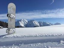 Снег n доски ' стоковые изображения