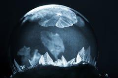 Снежинка глобуса снега рождества Стоковое Изображение RF