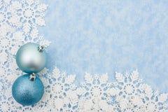 снежинка граници Стоковые Изображения RF