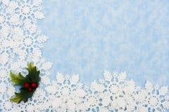 снежинка граници Стоковое фото RF