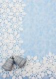 снежинка граници Стоковое Фото