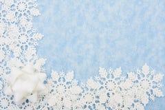 снежинка граници Стоковые Фотографии RF