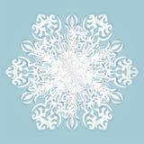 снежинка дальше, голубой стоковые фотографии rf