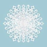 снежинка дальше, голубой стоковая фотография