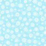 снежинка картины безшовная Стоковое Фото