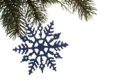 снежинка орнамента Стоковое фото RF