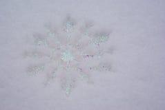 снежинка орнамента Стоковое Изображение