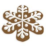 снежинка печенья иллюстрация штока