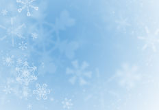 снежинка праздника предпосылки Стоковые Фотографии RF