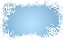снежинка предпосылки Стоковые Фото