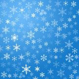 снежинка предпосылки Стоковое Изображение