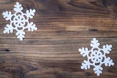 Снежинка рождества Стоковое фото RF