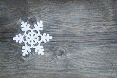 Снежинка рождества Стоковые Фотографии RF