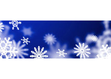снежинка сини полосы Стоковое фото RF