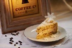 снежинка торта Стоковая Фотография